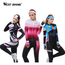 Wholesale-Cycling Clothing 2015 Long Sleeve Jersey + Long Tight Pants Thermal Fleece Thicken MTB Bike Bicycle Cycling Jersey Set Winter