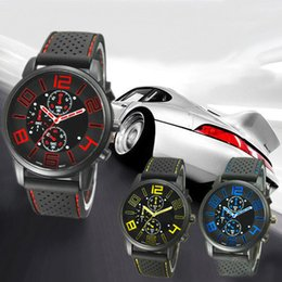 2015 New Designer High Quality Men's Casual Quartz Analog Rubber Silicone Band Stainless Steel Sports Wrist Watch ghk89