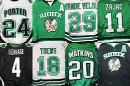Factory Outlet, Hot!!! 2015 University K1 North Dakota Fighting Sioux Hockey Jersey Black Green White Pink Customized Sewn On XXS-6XL