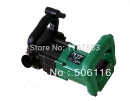 Wholesale Free ship Wall Groove Cutting Machine Milling slots Ductss Slits on Concrete Brick Saw NEW