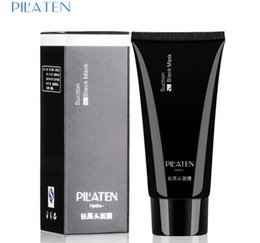 Pilaten blackhead remover Deep Cleansing the Black head Acne remover black mud face Tearing style oil skin 60g free shipping B-1098