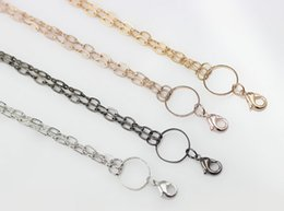 Factory Price ! 10pcs lot Rolo Link Chain   Necklace Fit For Floating Charms Locket Pendant