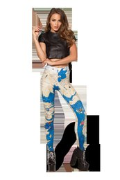Wholesale Hot Sexy Supernova Sale Women Ancient Central Europe Map Leggings Printed Pants Milk Leggings Fitness Drop Shipping