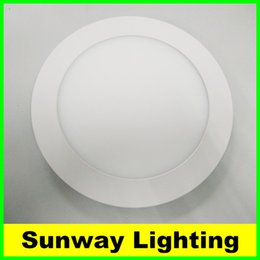 Wholesale LED Recessed down lights w w w w w w w W Downlights Ultra Thin LED Ceiling Panel light Lighting AC85 V SAA UL