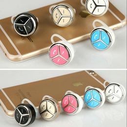 Wholesale Earhook stereo mini binaural universal wireless Bluetooth headset wireless Universal mobile computer music running down song Crazy shopping