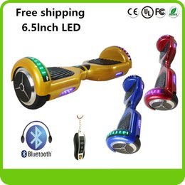 6.5lnch scooter electric Scooter Bluetooth Balance Electric ScooterSmart Hover Board Unicycle Two Wheels Balance Scooters 6.5Inch Scooter