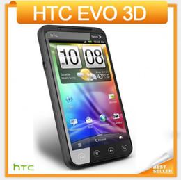 Wholesale Original HTC EVO D G17 Mobile phone quot Touch Screen G GPS WIFI Camera MP Multi language Freeshipping