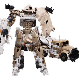 Wholesale Movie Transformation Robot Car Megatron Transformer Brinquedos C Toys Classic Anime Action Figures Boy s Holiday Gift