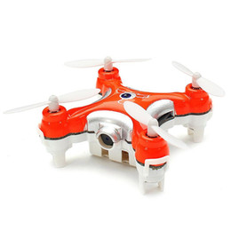 2016 meilleurs drones de la caméra 10pcs / lot DHL originale Cheerson CX-10C CX10C Camera Drone Mini 2.4G 4CH 6 Axe RC Quadcopter avec Camera RTF MODE2 Meilleur cadeau pour KIds bon marché meilleurs drones de la caméra