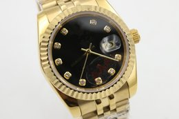 Los mejores relojes de moda de calidad en venta-Fecha AAA Moda automática de alta calidad caja de oro mejor hombre de marca seller nuevo estilo Relojes de lujo de los hombres de acero inoxidable