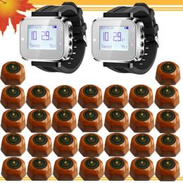 Wrist Pagers Wireless calling Systems For Restaurant,Coffee Shop,Pub Waiter Service Calling Ststem Wireless Waiter Calling System