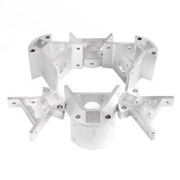 Wholesale Reprap Kossel All metal Aluminum Corner Piece Frame Vertical Base Delta Top Bottom Vertex Big And Small D Printer Parts