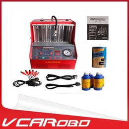 Wholesale Original LAUNCH CNC602A Fule injector cleaner amp tester CNC A advanced electromechanical machine CNC A