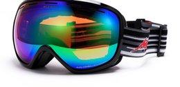 Wholesale NEW fashion men and women professional Ski Snowboard Goggles with Ventilation Anti fog coatings ski glasses snow goggles