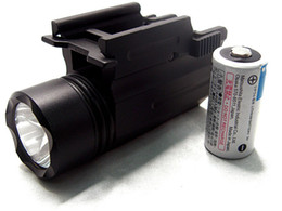 Riflescope Compact Tactical Flashlight for Weaver Rail Mount
