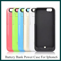 Wholesale 3500mAh battery bank Power Charge case cover for quot Cell Phone Chargers External Battery Case color