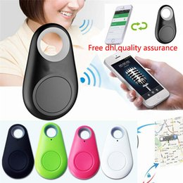 Wholesale child tracer iTag smart key finder bluetooth keyfinder tracer locator tags Anti lost alarm wallet pet dog tracker selfie for IOS Android