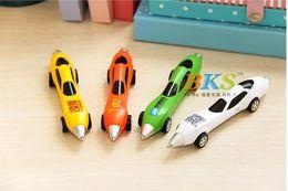Wholesale BKS Student toy car pen reative ballpoint pen car ballpen children school office supplies home decoration kids gift