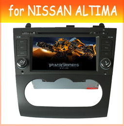 Wholesale 2 din car dvd radio for nissan altima navigation dvd gps with REAR VIEW CAMERA MANUAL AC AUTO AC