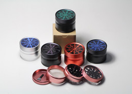 Wholesale Lighting Grinder Piece Spice Herb Grinder Hard Bottom quot mm Piece Original sharpstone quality Very cool different teeth color