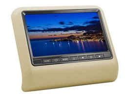Wholesale New universal Headrest Car DVD Player Auto Headrest Monitor FM IR mp3 mp4 Wireless Game
