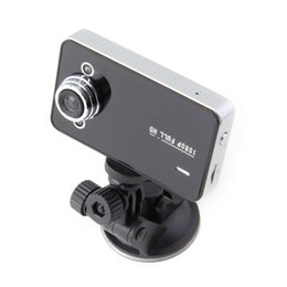 Wholesale 2 quot K6000 HD Vehicle GPS DVR Car Camera Video Dashboard Recorder Night Vision parking YKS