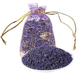 Wholesale Lavender Sachet Natural Aromatic For Living Room Drawer Car Office Bags Smell Sachets Room Decoration Free Shipping