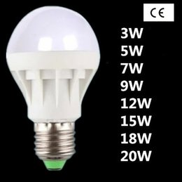Wholesale Factory sale LED bulb energy saving bulb E27 screw B22 bayonet w5w7w9w