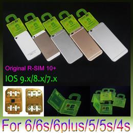 R-SIM 10+ R SIM 10plus RSIM 10+ Rsim10+ Unlock Card for iphone 6s 6 5S 5 4S ios9 9.X 3G 4G CDMA Sprint, AU, Softbank s direct use no Rpatch