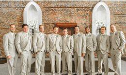 Wholesale CHEAP Men Suits for Wedding M Wedding Groom Suits Jacket Pant Vest Mens Wedding Suites Groom Men s Wedding Suits