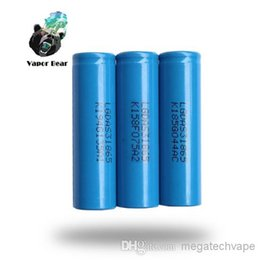NEW Original 18650 Battery 2200mah DAS31865 for Flashlight Ecig mod metal blue colors low price gift box Fedex