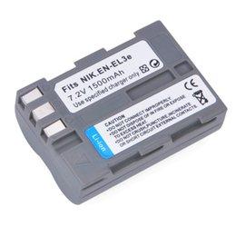 Wholesale 1500mAh EN EL3E ENEL3E Li ion Battery for Nikon D30 D50 D70 D90 D70S camera battery