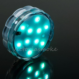DHL Free remote controlled submersible led light for For Wedding Party remote controlled submersible led light 100pcs from Victoriasmoke
