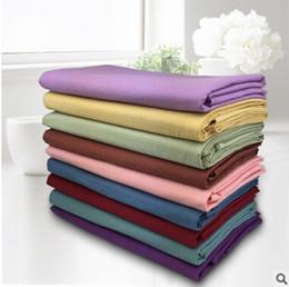Wholesale Pure cotton plain cotton sheets beauty salon massage special special sheet bedspread