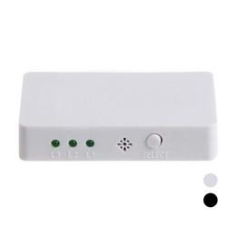 Wholesale S5Q x1 Mini HDMI Splitter Port Hub Box Auto Switch D HD Remote Control AAAFQZ