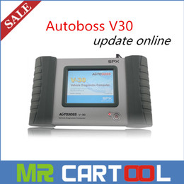 Wholesale 2016 Special offer Original SPX autoboss v30 auto scanner Free Update Online better than launch x431 diagun DHL FEDEX