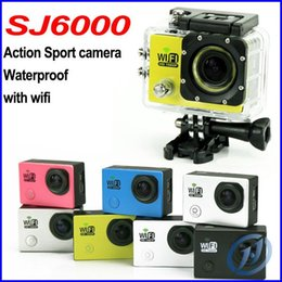 Wholesale Original SJ6000 WIFI Action Camera Sport Camera Waterproof M Mini Camcorder FHD Gopro Style Not Go Pro SJ inch