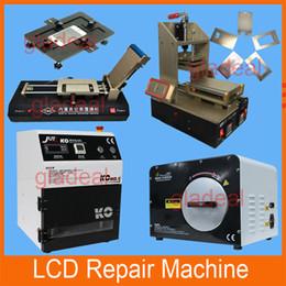 Wholesale 5 in LCD Separator Universal Metal Mold OCA Laminator KO Vacuum Laminating Machine Autoclave Bubble Remover Repair Touch Screen iPhone