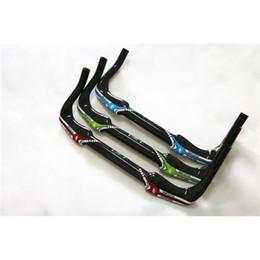 Wholesale Future Bike Handlebars Full Carbon Fiber Best Bicycle Road Handlebars Replacement Bike Handlebars Colors mm