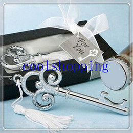 DHL Freeshipping 200pcs Key to My Heart Collection Key Design Bottle Opener wedding Favors