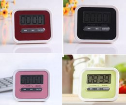 2015 hot Christmas Gift Digital Kitchen Count Down  Up LCD display Timer  clock Alarm with magnet stand clip