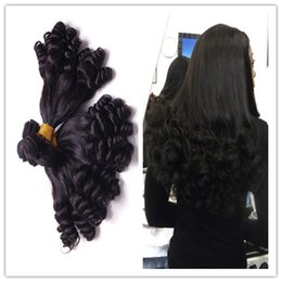 3pcs Brazilian virgin hair weft,6A grade virgin human hair weaves,100% aunty funmi hair free shipping