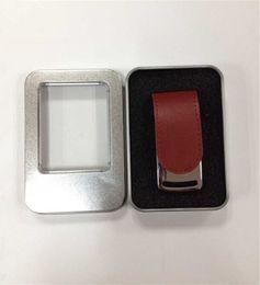 2019 Leather 64GB 128GB 256GB USB Flash Drive thumb drive 50 pieces a lot