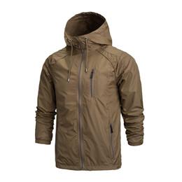 Wholesale Outdoor Jacket Men Waterproof Softshell Jacket Windproof Breathable Hiking Jackets For Sport Camping Rain Hoodies A0123