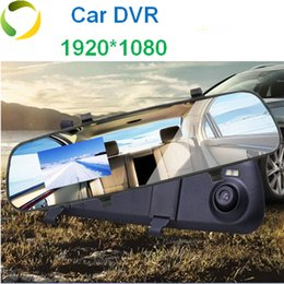Wholesale Mirror Car Dvr inch Nice Rear view Direct Selling Super Night Vision Recorder HD Wide Angle High Quality