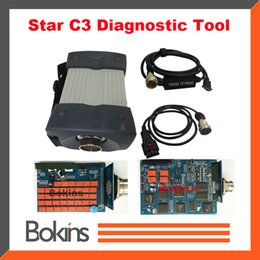 Wholesale 2015 Professional Star C3 Diagnostic Tool without HDD Star C3 Diagnose High Quality Star C3 Multiplexer DHL