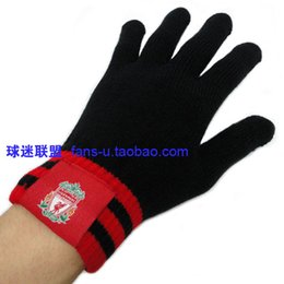 Wholesale FC Asena embroidery team logo knit warm autumn winter outdoor training scarf
