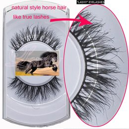 eyelashes 100% real tail premium quality fur Handmade super dense thick lashes