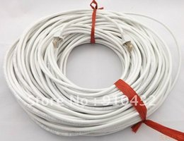 Wholesale-80m RJ45 Ethernet Network patch Cable,round lan white grey black for choice Free Shipping
