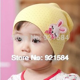 Wholesale beanie baby hat kids baby photo props colors lovely animal pattern skull elastic hat gorros bebes cap for years old AfL